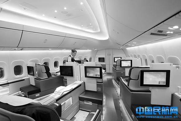 飞机需求的不断上升,波音747-8在三级客舱布局下可