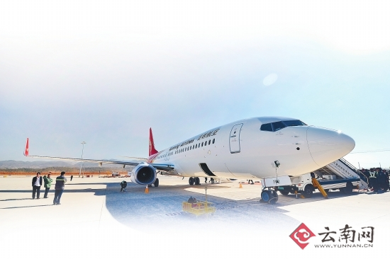 昆明航空购入首架波音737-800型飞机