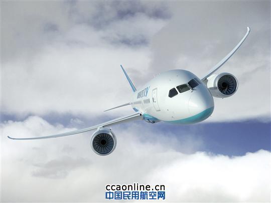 厦航787飞机效果图