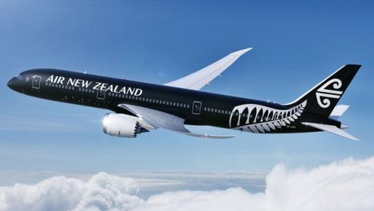 新西兰航空:全球首架787-9飞机将飞上海航线