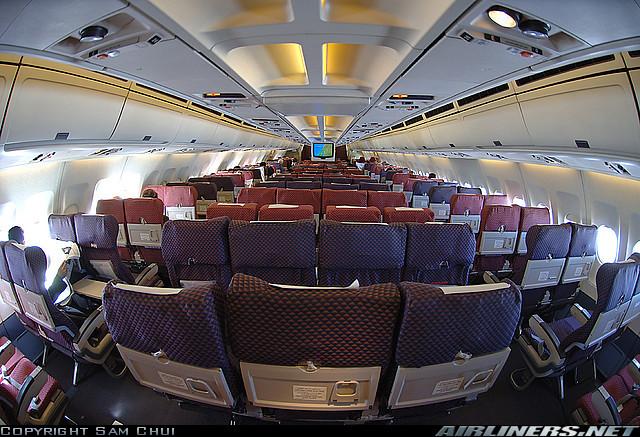 空客a310机舱