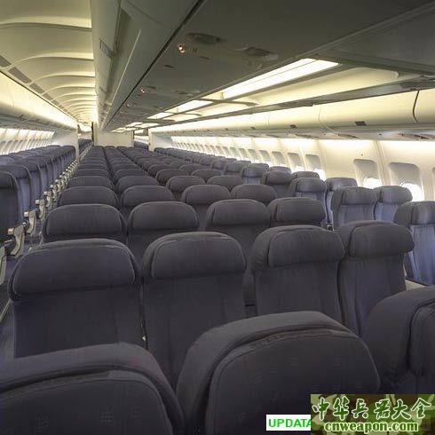 座位排放平面图 点击座位排放图可以看到a340-300与图片
