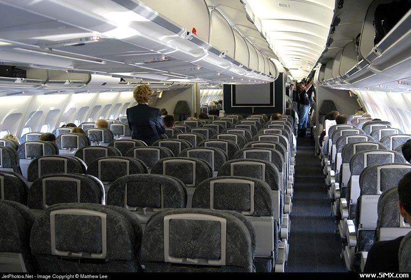 空中客车a340-300的内部图片