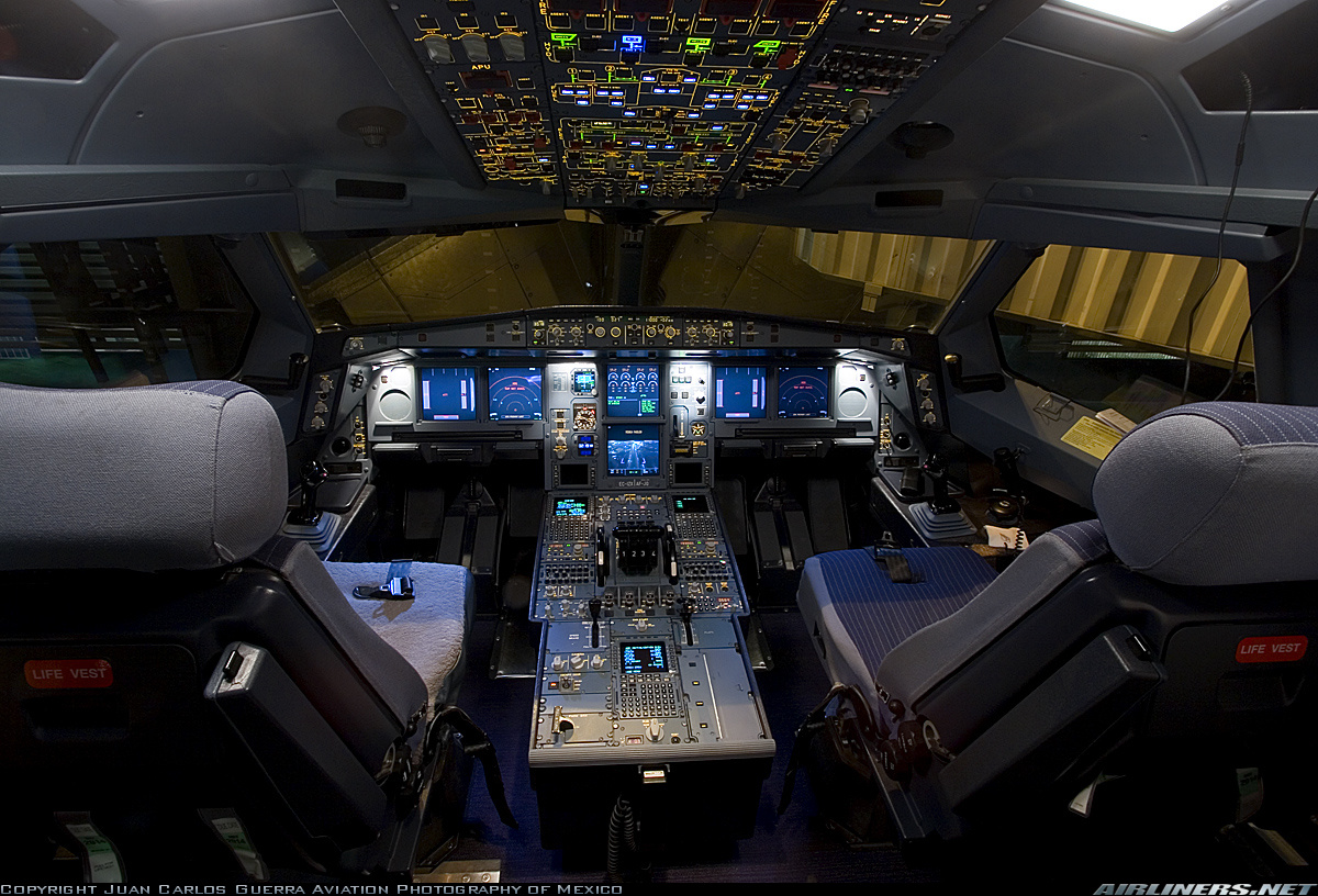 空中客车a340驾驶舱