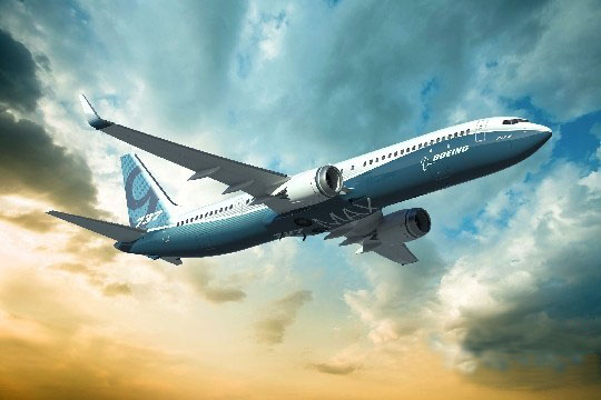波音737max飞机将于2017年投入运营