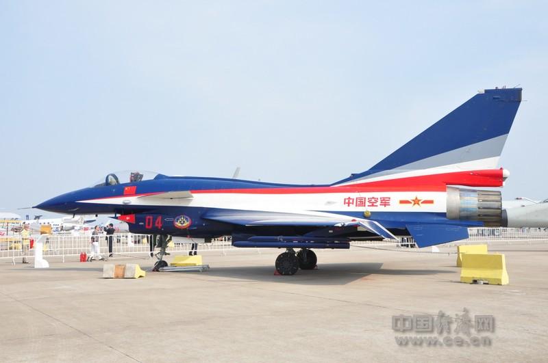 珠海航展上那些正在展示的飞机(1)