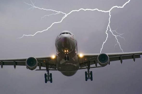 闪电会释放强大的能量,因此地面上的高耸建筑物通常会装置避雷针来预防雷击伤害,但飞机无法安装避雷针,若刚好经过雷雨区附近,就有可能遭遇雷击。此时,飞机会怎么样?有办法避免雷击或降低雷击伤害的程度吗?   在雷雨天,雷雨云上的静电会与地面产生感应电荷,造成云底为负电、地表为正电的情况。根据导体表面电荷分布的特性,电荷的密度以及电场的强度都跟导体表面的曲率半径有关,半径越小(也就是越尖锐),电荷密度跟电场强度就越高,因此,地表上高耸尖锐的物体就成为电荷集中所在,该处产生的电场相较四周强,也是最容易引起闪