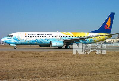 该飞机除执行正常航班外