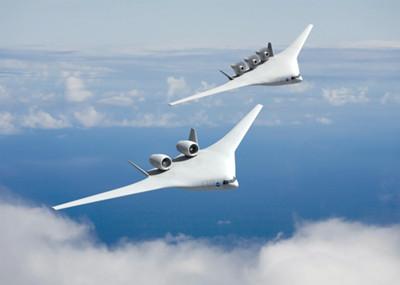 """飞机的""""将来式"""" nasa揭秘未来飞机_航空产业_中国经济"""