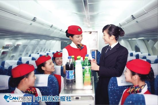 一般的空姐空少只在飞机上服务