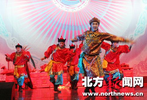 蒙古族歌舞剧 蒙古利亚婚礼 首演图片