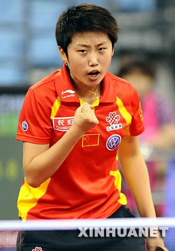 郭跃--郭跃在克罗地亚萨格勒布第一次桂冠乒乓球世锦赛女单赢得.龙舟v桂冠心得体会图片